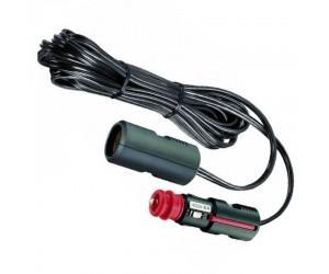 Pro-Car Auto-Kabel 12-24V 8A  Auto-Verlängerung Flachleitung 4m