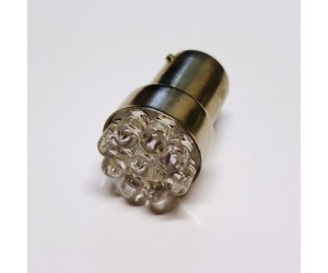 LED-BA15S 9LEDs 12V Leuchtfarbe orange
