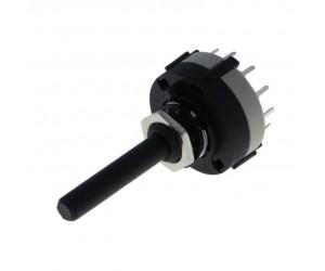 Drehschalter 30° 6-stellig 0,3A-125VAC 1A-30VDC