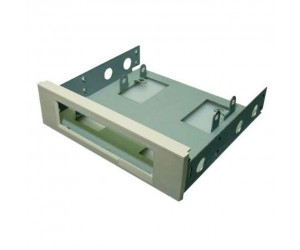Assmann A-90179NEW Floppy Disk Einbaurahmen Metall hellgrau