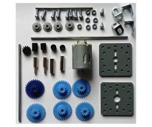 Getriebemotor-Bausatz 1,5-3V 4800-9600U/Min