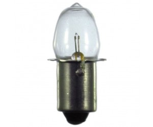 Kryptonlampe P13,5s, 0,7A 2,4V Zwerglampe Olivenform