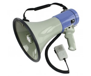 HQ Megafon 25W Abnehmbares Mikrofon