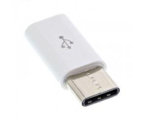 InLine® USB 2.0 Adapter, USB Typ-C Stecker auf Micro-USB Buchse