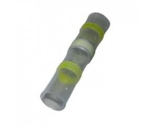 Wärmeschrumpfende Lötverbinder Ø6mm gelb