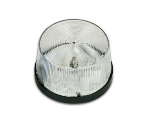 Velleman® HAA40W Blitzlicht transparent 12VDC 150mA, Ø70mm, IP44
