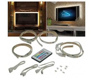 TV-Hintergrundbeleuchtung LED-Stripe USB Controller Stripset/RGB-TVUSB