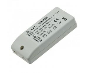 LED-Transformator 230VAC 12VDC 0,5-12W