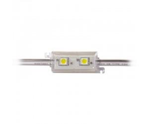 LED Modul 2 x Power SMD LEDs rot IP65 wasserdicht