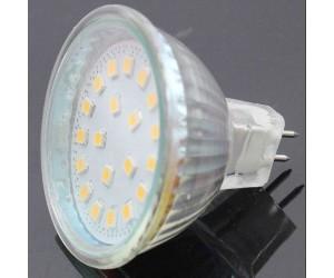 "ChiliTec LED Strahler MR16 ""H55 SMD"" 120° 3000k 400lm 12V/5W warmweiß"