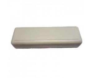 LP2090 Strapubox ABS-Kleingehäuse ohne Batt.-Fach 129x40x25mm grau