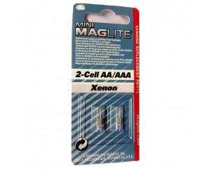 Mini Maglite® LM2A001L 2 Ersatzglühlampen (Xenon)