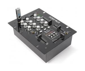 STM-2300USB SkyTec Mischpult 2-Kanal USB MP3 Cue-Taste
