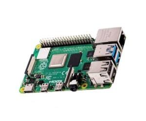 Raspberry Pi 4 B Computerplatine 64-Bit-Quad-Core-CPU 1.5GHz