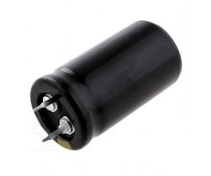 Elektrolytkondensator Flachbecher mit Lötstiftbefestigung
