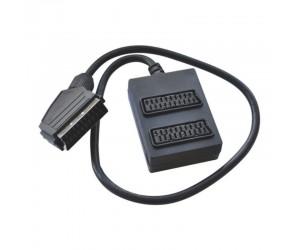 Electrovision Scart-Verteilerbox 2-fach