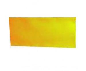 Schrumpfschlauch PVC 37mm-flach Ø23,5mm 1m Rate-2:1 gelb
