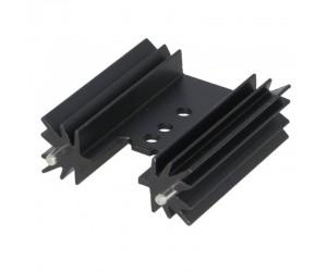 Profilkühlkörper 10,8K/W 35x38,1x12,7mm schwarz