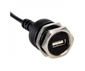 Velleman CC091, Runde USB-CHassisbuchse