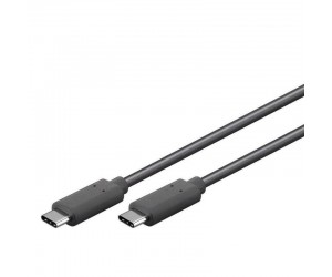 Goobay® USB-C™ Kabel 1m USB 3.2 Generation 2x2,5A, schwarz