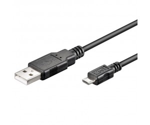 """USB 2.0 Hi-Speed Kabel USB """"A"""" + Micro-USB """"B"""" 480 Mbit/s"""