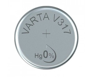 Varta SR62 (V317) Silberoxid-Zink-Knopfzelle, 1,55 V Uhrenbatterie