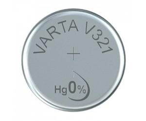 Varta SR65 (V321) Silberoxid-Zink-Knopfzelle, 1,55 V Uhrenbatterie