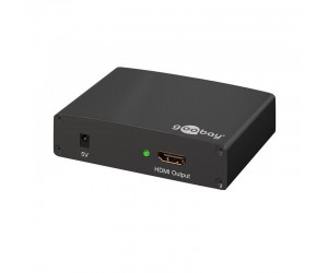 VGA-HDMI-Wandler Full-HD 1920x1080p VGA+Cinch/HDMI™ Konverter