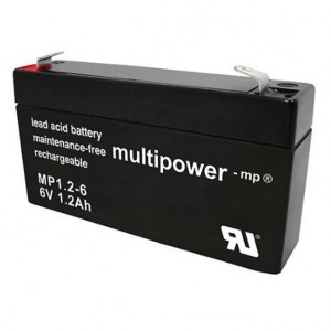 Multipower MP1,2-6 Bleiakku 6V 1,2Ah