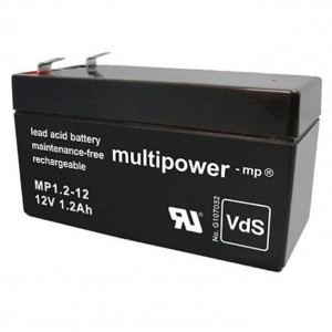 Multipower MP1,2-12 Bleiakku 12V 1,2Ah