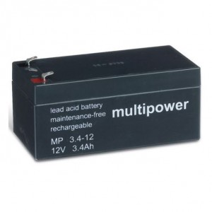 Multipower MP3,4-12 Bleiakku 12V 3,4Ah