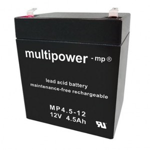Multipower MP4,5-12 Bleiakku 12V 4,5Ah