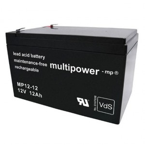 Multipower MP12-12 Bleiakku 12V 12Ah