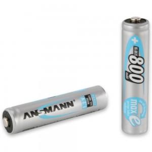 Ansmann NiMH Akku Micro AAA 800mAh maxE bei mükra electronic