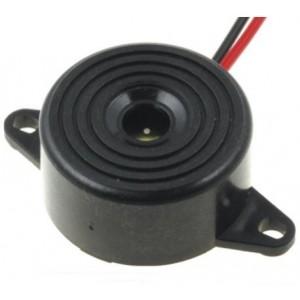 Loudity Piezo-Signalgeber 1,5-24VDC 85dB Gehäusemontage Litze