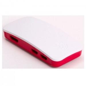 Offizielles Gehäuse der Raspberry Pi Foundation für Raspberry Pi Zero weiss/rot