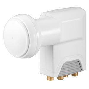 Universal Quattro LNB digitaler SAT-LNB (DVB-S2) für den Einsatz an Multischaltern (4K/HDTV/3D Empfang)