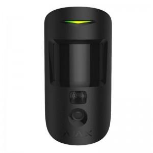 AJAX Motioncam drahtlos schwarz Bewegungsmelder mit Kamera