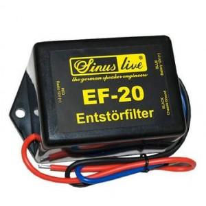 Sinuslive EF-20 Entstörfilter 20A Brummfilter Störgeräuschfilter