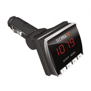 Technaxx-FMT100 KFZ FM Transmitter + MP3 / MP4