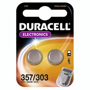 Duracell® SR44 D357 D303 Knopfzelle 1,5V