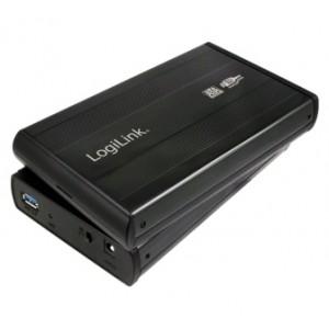 """LogiLink® externes Festplattengehäuse 3,5"""" schwarz"""