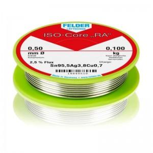Felder ISO-Core® Lötdraht Ø 0,5mm 100g bleifrei