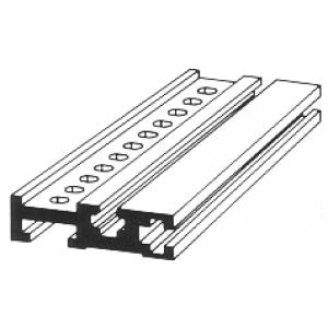 Aluminiumprofil für 19-Zoll-Gehäuse 20,8cm