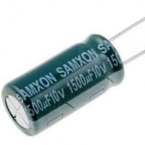Elektrolytkondensator mit niedriger Impedanz 1500µF/10VDC