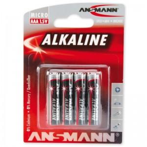 Ansmann Alkaline Batterie AAA LR03 4er Blister
