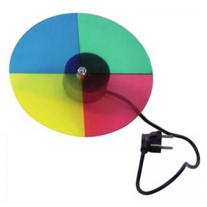 Eurolite® Farbrad mit Motor für Punktstrahler