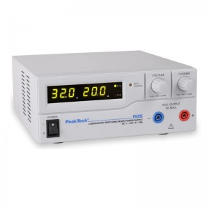 PeakTech® 1535 Labor-Schaltnetzteil DC 1-32V 0-20A