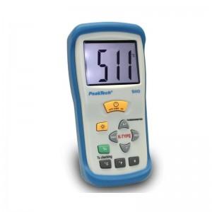 PeakTech® 5110 Digital-Thermometer ~ 1 CH ~ Typ-K ~ -50 ... +1300°C ~ mit °C/°F/ K Anzeige