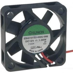 Sunon DC-Axial-Gerätelüfter 12VDC 40x40x10mm